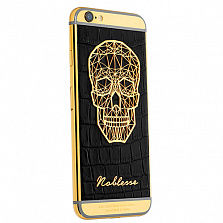 Apple iPhone 6 Noblesse Gold Plated Skull Edition