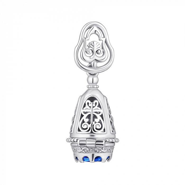 Серебряная ладанка-мощевик 000149023 000149023