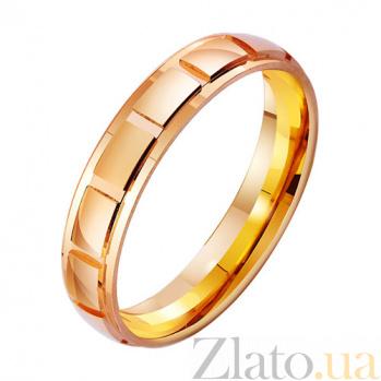 Золотое обручальное кольцо Момент нежности TRF--4111310