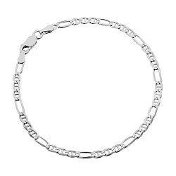 Серебряный браслет Кеннет, 3 мм