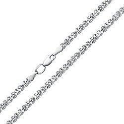 Серебряный браслет в плетении нонна 000115205
