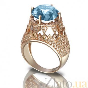 Золотое кольцо с топазом Гликерия TNG--371656