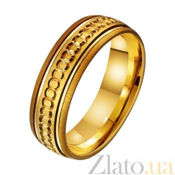 Золотое обручальное кольцо Счастливый брак TRF--431454