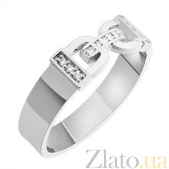 Золотое обручальное кольцо с бриллиантами Сильвия KBL--К1711/бел/брил