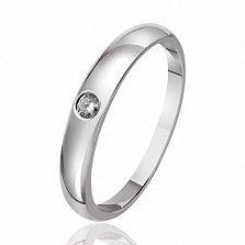 Кольцо из белого золота Эмблема красоты