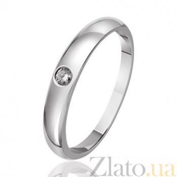 Кольцо из белого золота Эмблема красоты EDM--КД7427/1