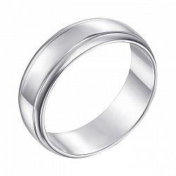 Обручальное кольцо из белого золота 000000324