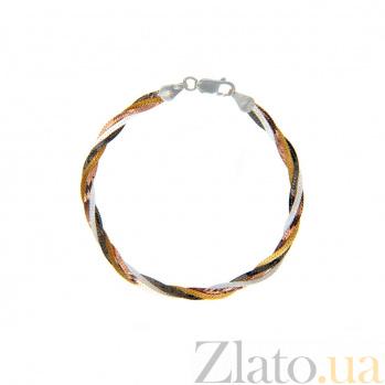 Женский позолоченный браслет AQA--819Д/3