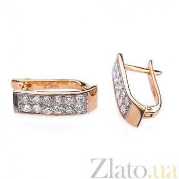 Серьги с бриллиантами Фрейя E 0297