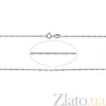 Серебряная цепочка родированная AQA--859Р-1