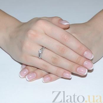 Кольцо из белого золота Джудит SVA--1100823102/Фианит/Цирконий