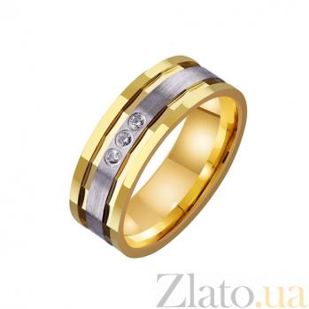 Золотое обручальное кольцо Модный образ TRF--4421458
