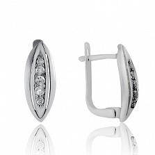Серебряные серьги Для любимой