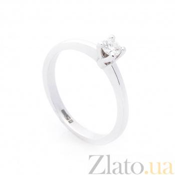 Кольцо из белого золота Мария с бриллиантами 000096454