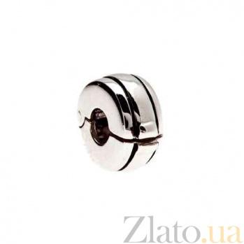 Серебряная бусина-разделитель AQA--135510238