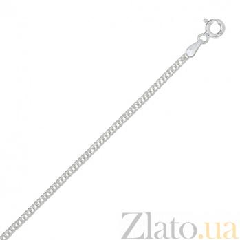 Серебряная цепь Блюз с родированием, 2 мм, 50 см 000027693