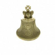 Именной бронзовый колокольчик Св. Екатерина