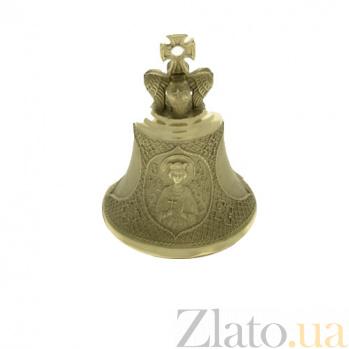 Именной бронзовый колокольчик Св. Екатерина К8611