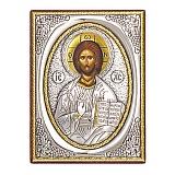 Икона с серебром Господь Вседержитель