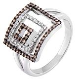 Золотое кольцо Астани с бриллиантами