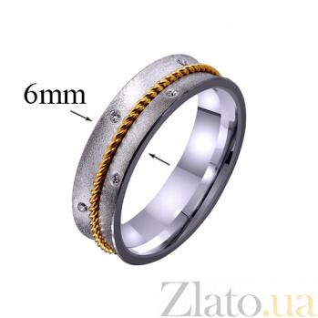 Золотое обручальное кольцо Сердечная привязанность TRF--4421536