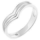 Серебряное фаланговое кольцо Лайнира