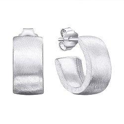 Серебряные серьги-конго 000145839
