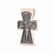 Золотой крестик Божья сила