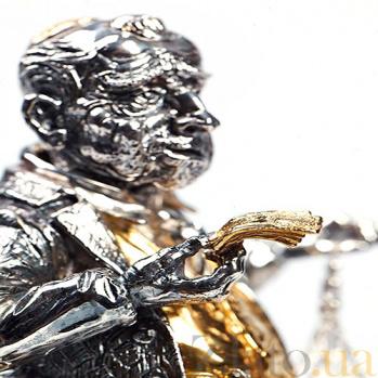 Серебряная статуэтка Заемщик 525
