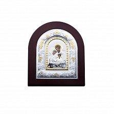 Серебряная икона с позолотой Святое Семейство
