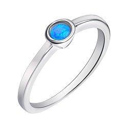 Серебряное кольцо с опалом 000139596
