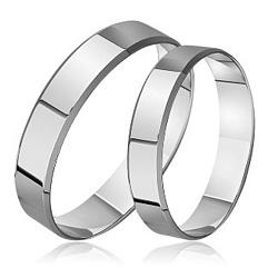 Золотое обручальное кольцо Стильная классика