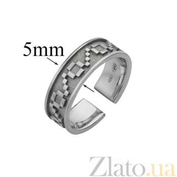 Серебряное кольцо на фалангу Кайма 000019579