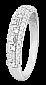 Кольцо из серебра с цирконием Путь к звездам 000025826