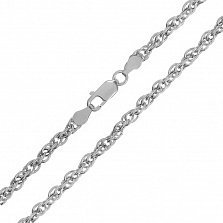Серебряная цепь Монреаль, 2,5 мм