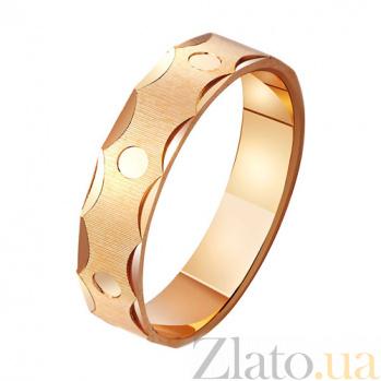 Золотое обручальное кольцо Свет великой любви TRF--411055