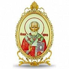 Серебряная икона Святителя Николая Чудотворца