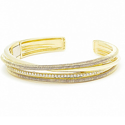 Браслет Ashkenazi из желтого золота с бриллиантами 000017488