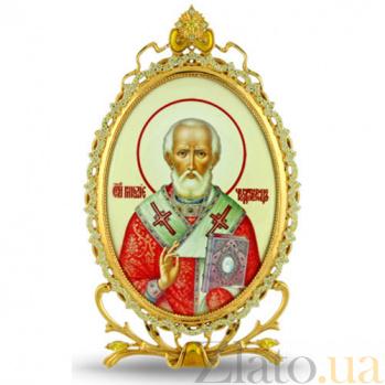 Серебряная икона Святителя Николая Чудотворца 2.78.0305