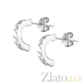 Сережки из серебра Молли SLX--С2/397