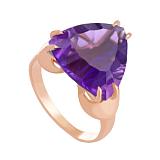 Золотое кольцо Статус с александритом
