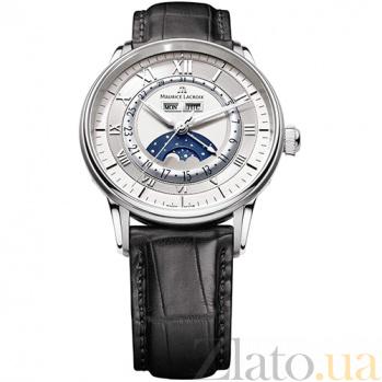 Часы Maurice Lacroix коллекции Phase de lune Round MLX--MP6428-SS001-11E