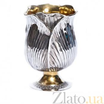 Серебряный бокал Тюльпан 1080/тюл