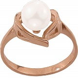 Золотое кольцо Эдита с жемчугом