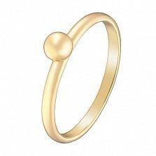Кольцо в желтом золоте Лаконичность