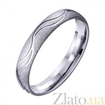 Золотое обручальное кольцо Волны счастья TRF--4211762