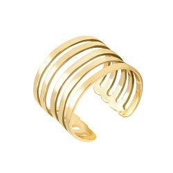 Разомкнутое кольцо из желтого золота 000135360