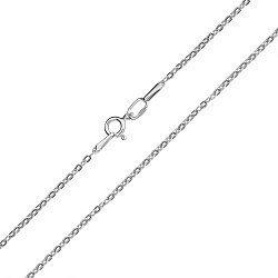 Серебряная родированная цепь Олимпика, 1,8мм