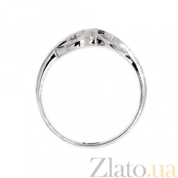 Золотое кольцо в белом цвете с сапфирами Фелисита ZMX--RS-6545w_K