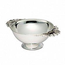 Серебряная миска Ромашка